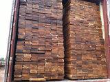 """5 """" *3/4 """"固体未完成のアカシアのアジアのクルミの堅材のフロアーリング"""