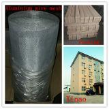 Schermo d'argento 0.61m-1.5m /Roll della finestra della lega di alluminio di protezione della zanzara di colore
