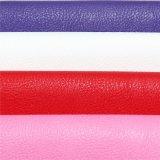 女性の`Sのハンドバッグのための普及したLicheeパターンデザインPUのイミテーション・レザー