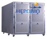 Dois corpos de aço inoxidável Cold Mortuary Refrigerator / Corpse Body Cabinet