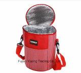 Sac rouge de refroidisseur d'organisateur de sac de pique-nique avec la taille faite sur commande