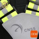 Тельняшка безопасности регулируемой отражательной тельняшки таможни изготовления задействуя предупреждающий отражательная