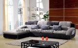 Da mobília americana da sala de visitas do estilo da forma sofá moderno da tela (HX-F621)