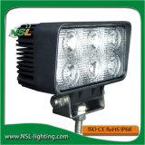 Lumière automobile 18W de travail de DEL pour des camions