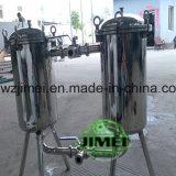 Filtro duplex de aço inoxidável de alto desempenho para o suco
