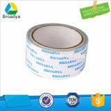 Cintas adhesivas de acrílico solventes bilaterales con el sostenedor del tejido (DTS510)