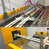 Plastik erstellt Extruder-Maschinen für Belüftung-Kabeltrunking-Produktion ein Profil