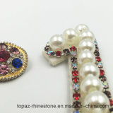 1 Одна буква Rhinestone Crystal Clear Applique мотивы / Исправление одежду для исправления Applique одежды костюм украшения