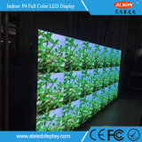 Schermo di visualizzazione locativo dell'interno del LED di colore completo P4 per la fase