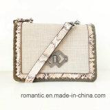 Signora semplice Lace Webbing Woven Handbags (NMDK-063003) di acquisto