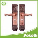 2017 serrature di portello in lega di zinco di vendita calde in grande piatto lungamente per la villa ed i portelli esterni
