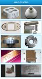 Máquina do marcador do laser da fibra para o metal de couro plástico de madeira