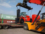 Aprovação CE 15ton Cummins Engine Container Forklift for Sale