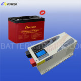 Batterie profonde rechargeable 12V200ah de gel de cycle pour solaire (HTL12-200ah)