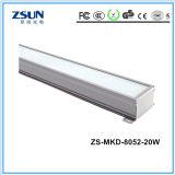 Garantía 3 años de 20W LED de luz del túnel modular