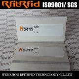 Escritura de la etiqueta antirrobo del inventario RFID de la protección antifalsificación de la frecuencia ultraelevada