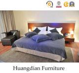 最新のデザインホテルの寝室セット(HD219)