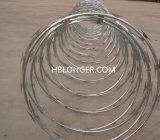 ステンレス鋼かみそりのとげがある鉄ワイヤー