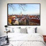 Le centre-ville moderne ville afficher une image HD Imprimer