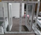 Французский тип нутряное окно PVC стеклянного окна