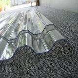 プラスチック建築材料の反紫外線波形のパソコンのポリカーボネートの屋根ふきシート