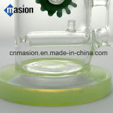 Glass Smoking Wax Dry Tuyau de pipe à gazon (AY021)
