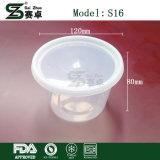 Mikrowellen-Wegwerfplastiksuppe-Filterglocke-Nahrungsmittelbehälter mit Kappe wegnehmen