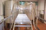 Escalera de acero fabricada meatal industrial usada alta calidad