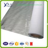 Material de aislante reflexivo revestido tejido de Mylar del papel de aluminio de la tela alto