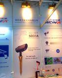 Dispositif en laiton de DEL pour l'éclairage de jardin avec l'angle de faisceau et le contrôle réglable du pouvoir RGBW Bluetooth
