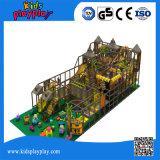 屋内大きい遊園地の運動場装置子供のいたずらな城
