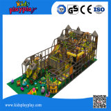 Großes Vergnügungspark-Spielplatz-Gerät Innen, Kind-freches Schloss
