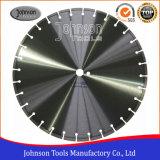 Od450mm soudées au laser pour la coupe de granite de lame de scie