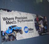 Impresión de encargo al aire libre que hace publicidad de la bandera del PVC del vinilo (SS-VB80)