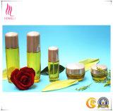 Bottiglia della lozione e vaso impaccanti cosmetici di vetro della crema per cura di pelle