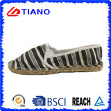 Shoes (TN36708)熱い販売の平らで、快適なEspadrillesの女性