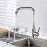 Le nickel a balayé le robinet de bassin de cuisine de l'acier inoxydable 304