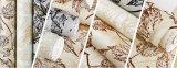 La Decoración de pared de alta calidad Papel tapiz de terciopelo ecológica acudieron el papel de pared