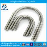 版が付いているJiaxing Haina 316のステンレス鋼のU字型ボルト