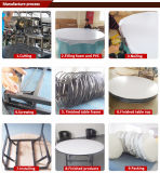 Silla transparente del banquete de Chiavari del hotel, silla clara de Chiavari de la resina