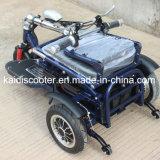 Adulto plegable 350W motocicleta eléctrica de tres ruedas Scooter de movilidad Ce