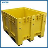 L'industrie palette plastique empilables boîte réutilisable, Palette Conteneur, caisse palette, palette Bin, conteneur de vrac avec couvercle
