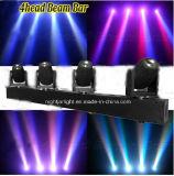 4PCS LED移動ヘッドビームライト