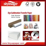 1.82m(72pulgadas) 45gramo Anti-enroscamiento Papel de Sublimación Secado Rápido para Impresión Textil(Manufacturado)