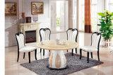Moderner Marmorabendtisch mit Stuhl, Abendessen-Möbel stellte ein (LT-32)