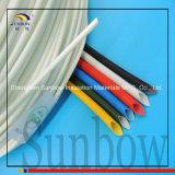 Sunbow 4mm de ElektroIsolatie Sleeving 1.5kv van de Glasvezel van de Draad