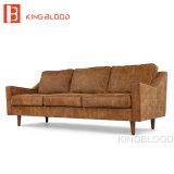 Modèles de jeux marocains de sofa de cuir de meubles de Leathe