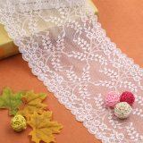 Стили моды белый шторки текстильной кружевной ткани для продажи