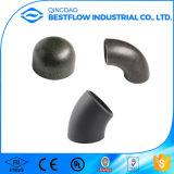 Cotovelos de aço soldados extremidade dos encaixes de tubulação do aço do carbono