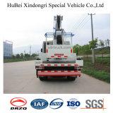 14m Dongfengのトラックによって取付けられる持ち上がる空気作業プラットホーム